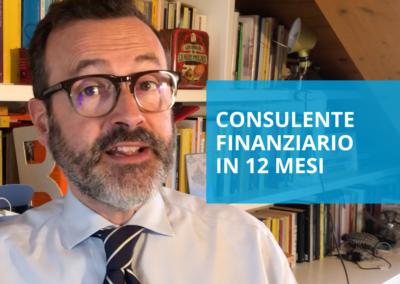 Consulente finanziario in 12 mesi
